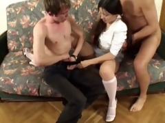 dad fucks sons girlfriend