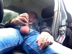 big dicked dad carwank