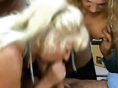 daughter lets her mom smack boyfriends cum