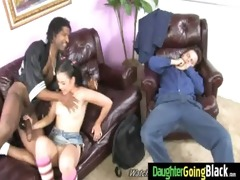 youthful daughter with nice butt fucked by a