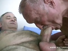 fat dad get drilled by chubby mature ally