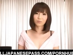 kurara horie shows naked bawdy cleft to camera