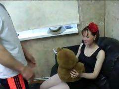 3 friends fuck youthful girl- 2