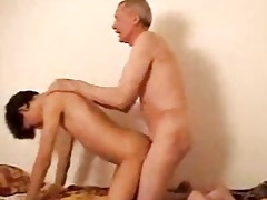 aged gay dad shaggs youthful boi doggy style