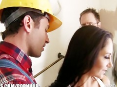 slutty brunette wife ava addams bonks her home