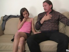 wicked gal have blow job enjoyment with her bfs