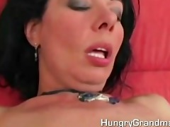 a hot mommy receives hard juvenile pecker