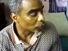 darksome aged dad dad fucks black boy son creamy