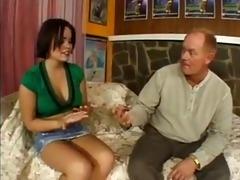 kaci starr persuades her dad
