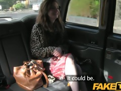 faketaxi red head receives fucked through the