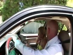 non-professional step daughter sucks rod