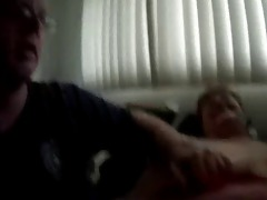 young dude plays with 70 year old granny