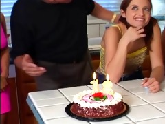 18 year old gets fucked by step dad on birthday