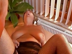 grandma gets dicked hard from younger fellow