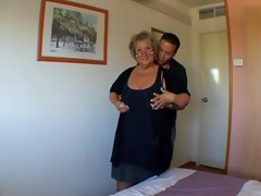 french older carole analfucked in nylons