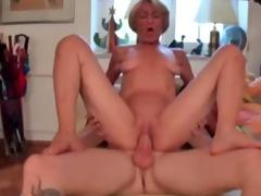 lewd granny just craves cock !