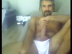 macho de cavanhaque pauzudo na cam