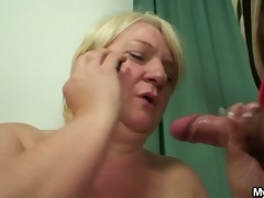 hubby caught cheating with her mommy