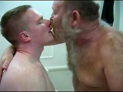 lewd hirsute bear seducing juvenile cub