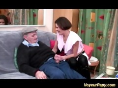 horny voyeur papy fucks nymph in some