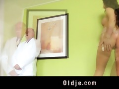 young mistress fucking her old butler