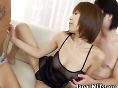 fine ass wench jun kusanagi in gangbang part5