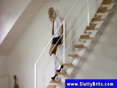 sexy blond amateur legal age teenager schoolgirl