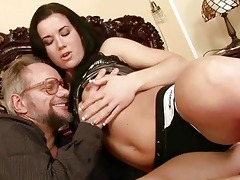 grandpapa enjoys wicked sex with beautiful legal