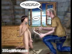 room for rent 3d homo animated toon comics st