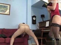 sexy daughter bondage villein