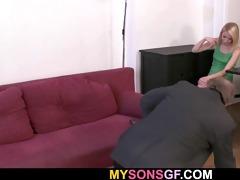gf sucks his old dick