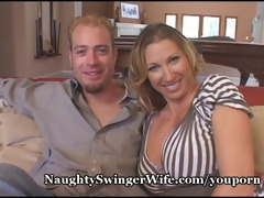 mature couple double team hottie