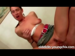 wild younger fuck for older guy