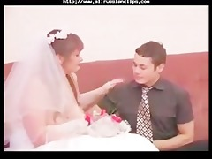chap and aged woman wedding night russian
