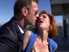 hawt veronica gets an intense banging by rocco