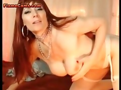 redhead mother i dildoing her ass