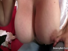 busty doxy enjoys riding his big meat