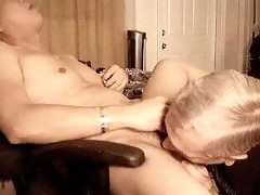 grand-dad like to suck dick and eat cum