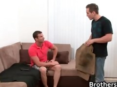 brothers excited boyfriend gets pounder part1