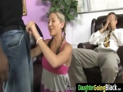 young daughter with nice a-hole drilled by a dark