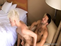 timo garett receives drilled hard by his dad