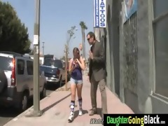 young daughter with good ass fucked by a dark