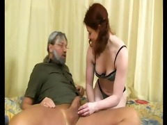 young redhead makes this older boy cum hard -
