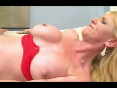 sexy older mother - sweating, fucking, swallowing
