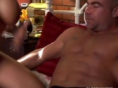 glamorous busty milf enjoys a hard fucking