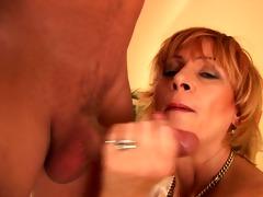 mature horny broad acquires boned