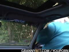 she is picked up from the road and fucked