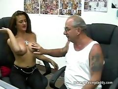 whore auditions for old pervert