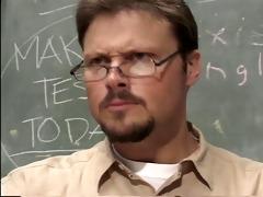 professor harm found the cheat sheet in her twat