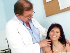 aged livie slit examination by lewd perverted